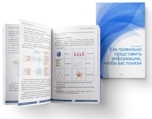 информационный дизайн электронная книга